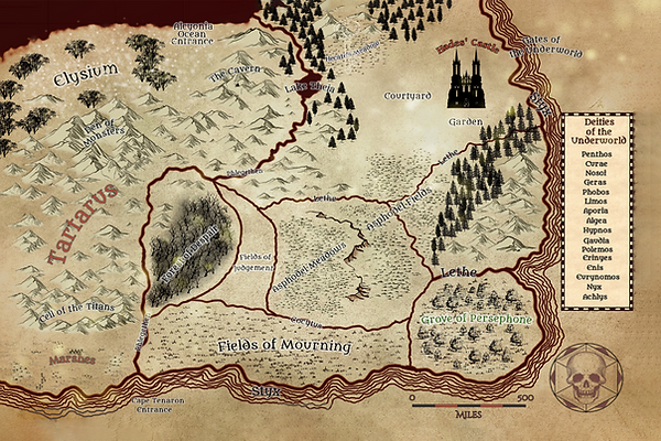 New Underworld Map