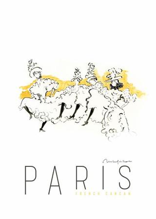 Paris French Cancan