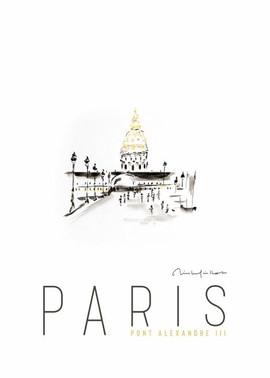 Paris Pont Alexandre II
