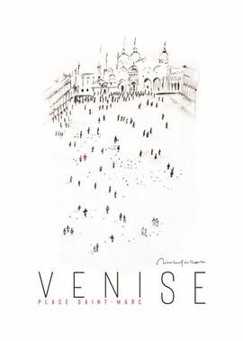 Venise place Saint Marc