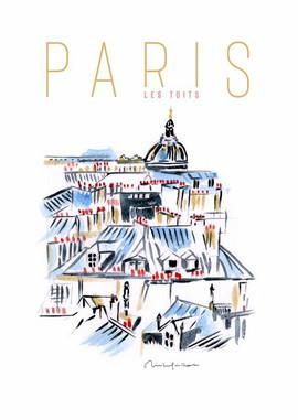 Paris les toits