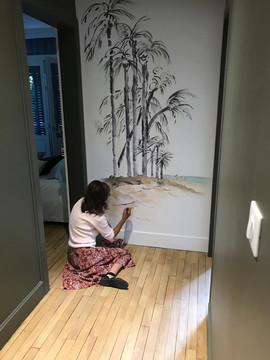 Papier Peint Les Palmiers
