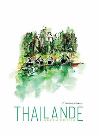 Thailande - Cabanes au bord du Lac Inle