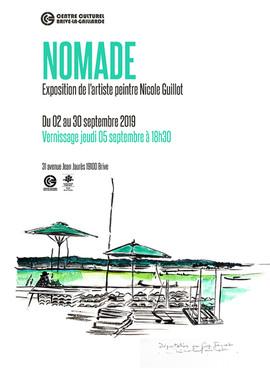 Affiche Nomade Centre Culturel Brive