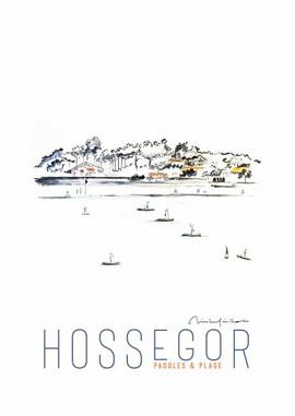 Hossegor paddles et plage.JPG