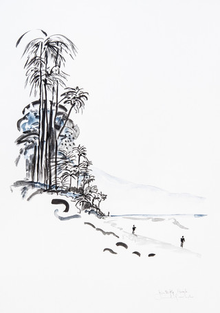 Californie Palmiers
