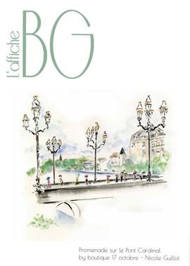 Affiche BG 2020 - Pont Cardinal - Nicole Guillot