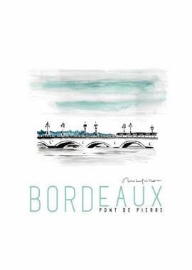 Bordeaux le Pont de Pierre