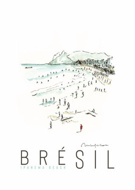 Bresil Ipanema Beach