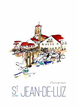 Saint Jean de Luz Le port