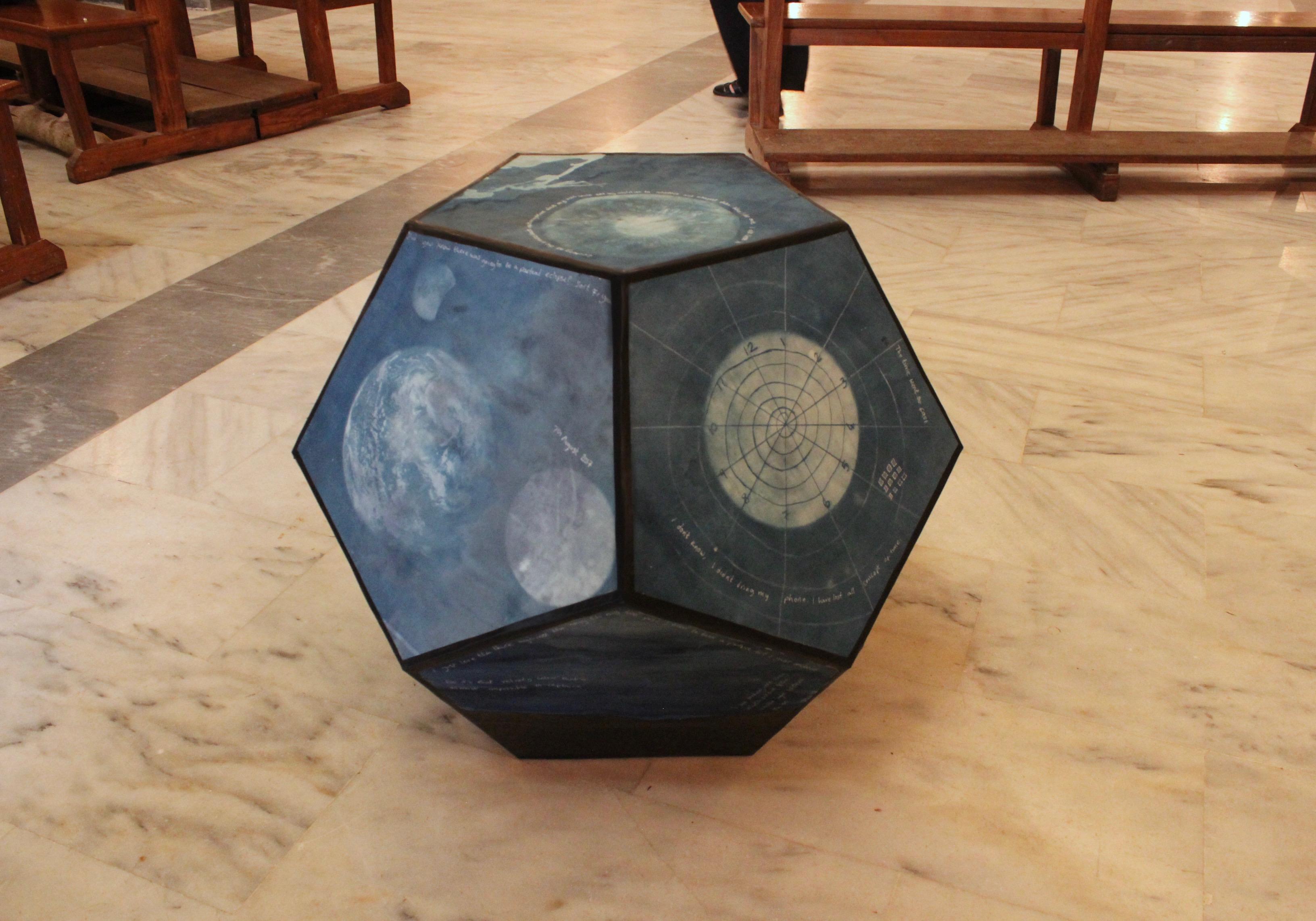 Helen Cawley - Lumen Astronomy cyanotype