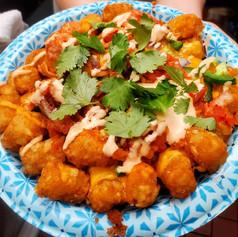 Kimchi Tater Tots