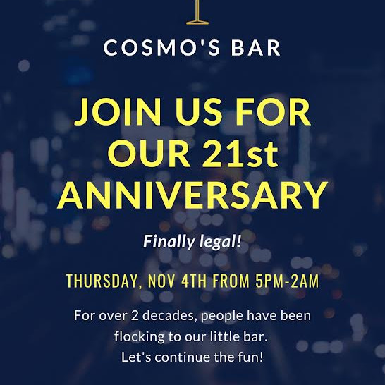 Finally 21 & Legal!