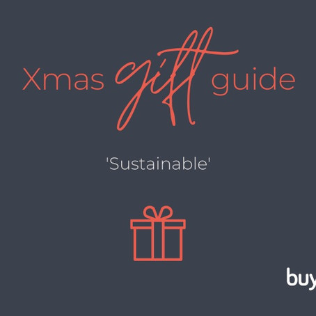 SUSTAINABLE SANTA gift guide