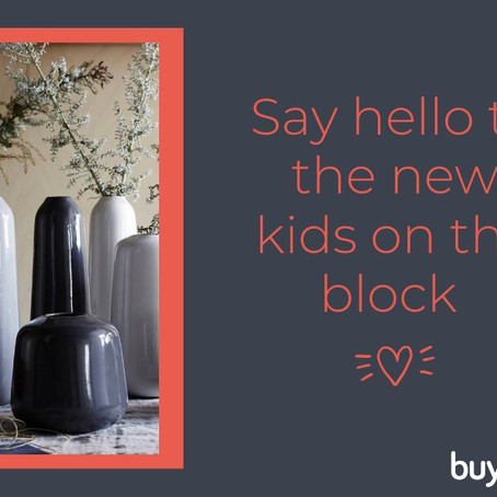 SAY HELLO TO THE NEW KIDS ON THE BLOCK