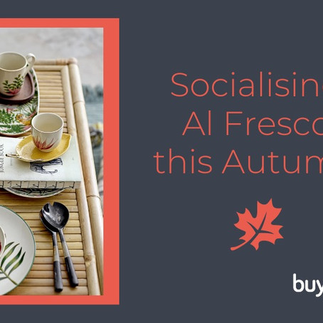 EXTEND YOUR AL FRESCO DINING AND INVITE AUTUMN IN