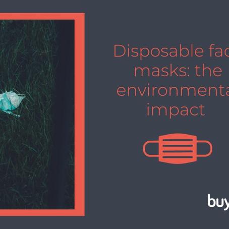the environmental impact of disposable face masks