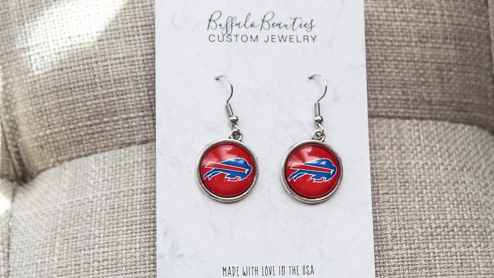 Bills Logo Earrings