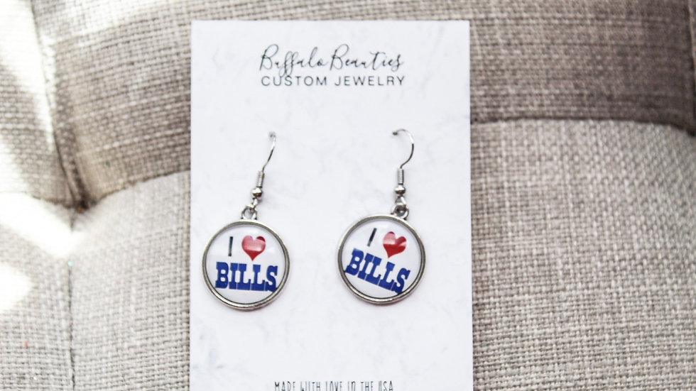 I love bills earrings