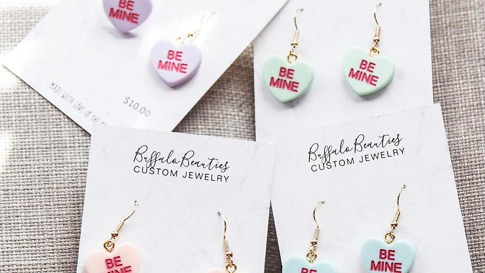 Be mine earrings