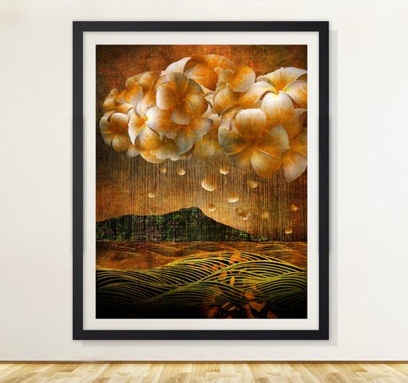 Plumeria Rainstorm