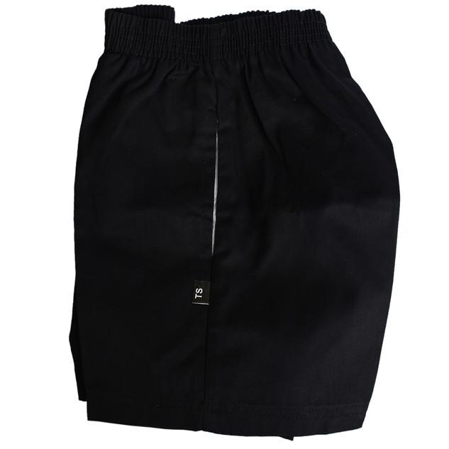 Gaberdine Shorts with Zip