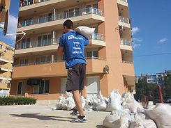 хамали изхвърляне на строителни и битови отпадъци до депо или сметище във Варна