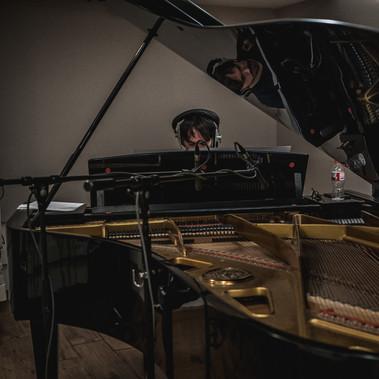 """Recording the score of """"Quién eres"""" 2018"""