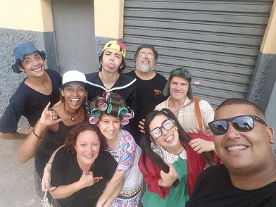 Animação de Festa com os personagens de A Turma do Chaves
