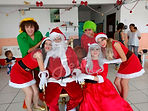 Festa temática - Natal com Papai Noel, Noeletes, Mamãe Noel e Duendes