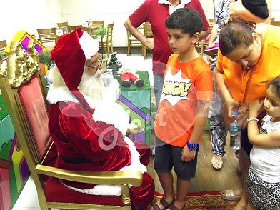 Festa Temática - Natal com Papai Noel