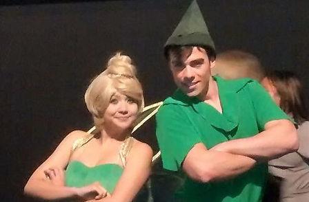 Animação de Festa com os personagens de Peter Pan