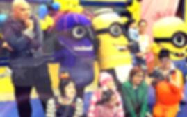 Animação de Festa com os personagens de Meu Malvado Favorito