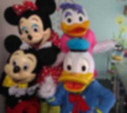 Animação de festa infantil com a Turma do Mickey