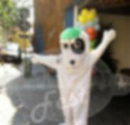 Animação de Festa com os personagens de Doki