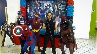 Animação de festa infantil com Super Herois