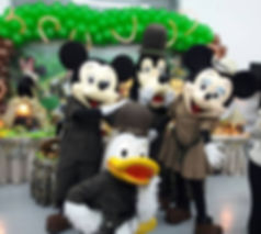 Animação de festa infantil com Mickey Safari