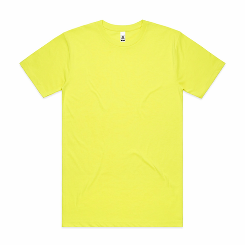 AS Colour - Mens Block Tee (Safety Colours)