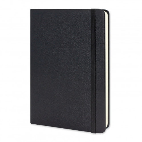 118226 Moleskin Leather Hard Cover Notebook