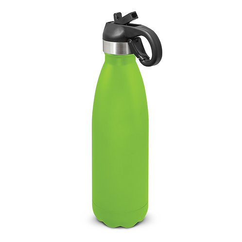 116526 Mirage Powder Coated Vacuum Bottle - Flip Lid