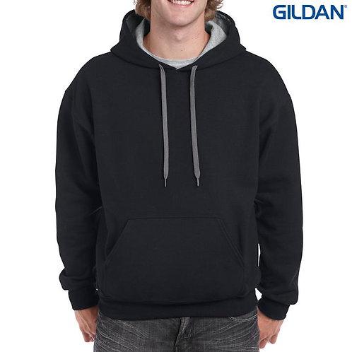 Gildan 18500C Heavy Blend Adult Contrast Hooded Sweatshirt