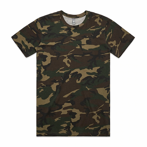 AS Colour - Mens Staple Camo Tee