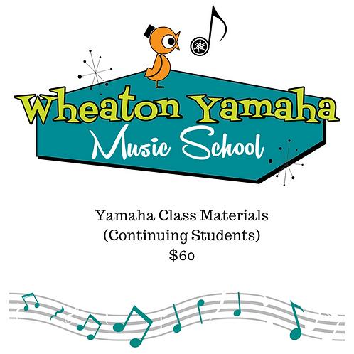 Yamaha Class Materials - Continuing Student