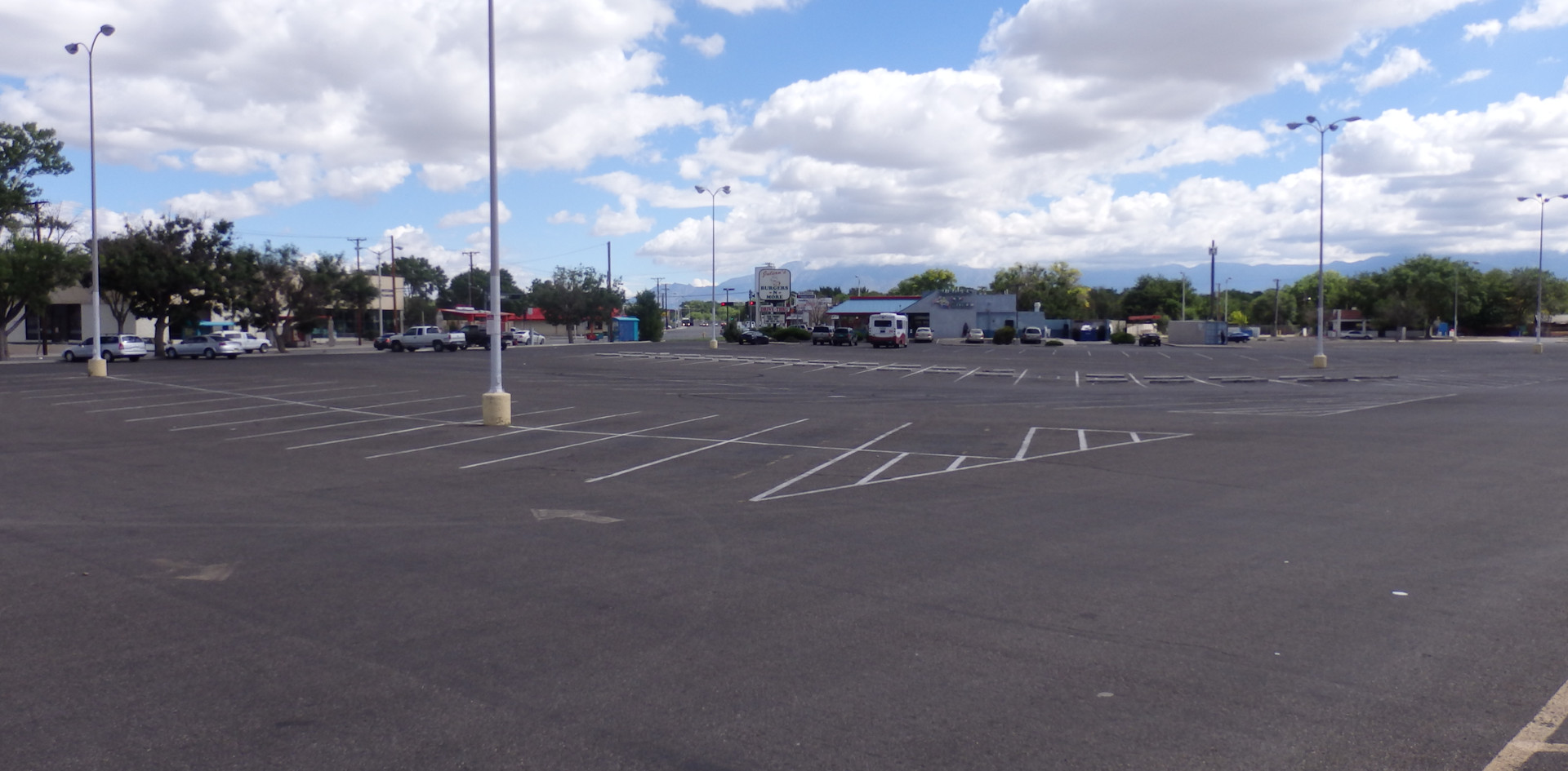 Before Parking Lot
