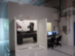 RX Solutions UltraTom X-ray system placed in a bunker