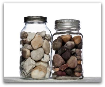 Nurture A Jar Of Rocks blog article by Karan Scott Coaching | Northants 01536 601749