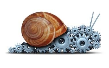 Progress May Be Slow, But Quitting Won't Speed It Up! blog article by Karan Scott of Karan Scott Coaching   Northants 01536 601749