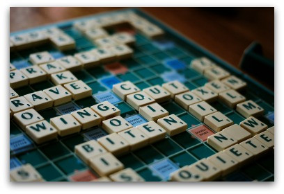What Scrabble Taught Me About Life & Business blog article by Karan Scott Coaching | Kettering 01536 601749