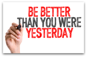 Change Is Hard So Just Be Better Than Yesterday, Every Day blog article by Karan Scott of Karan Scott Coaching, Kettering | 01536 601749