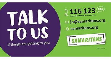 Samaritans Contact Information
